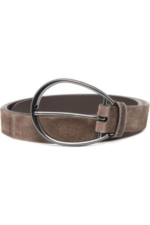 Brunello Cucinelli Women Belts - Suede buckle belt