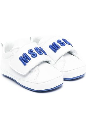 Msgm Baby Sneakers - Logo touch-strap sneakers