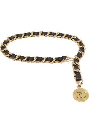 CHANEL 1994 CC medallion belt