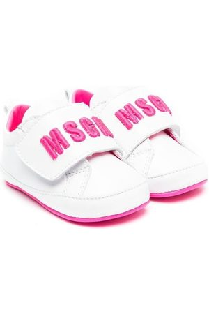 Msgm Baby Sneakers - Touch-strap logo sneakers
