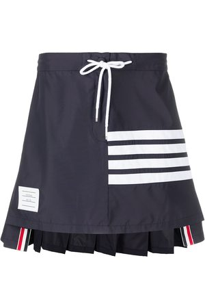 Thom Browne Pleated back mini skirt
