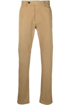 MASSIMO ALBA Off-centre button chinos