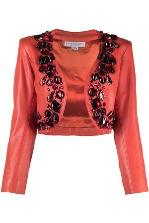 Yves Saint Laurent Women Boleros - 1980s stone-embellished bolero