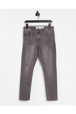 New Look Skinny jeans with chain in