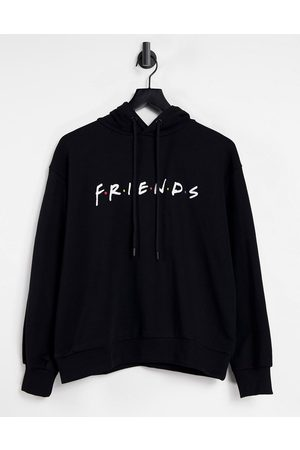 NA-KD X Friends organic cotton oversized hoodie in