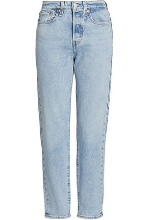 Levi's Women Tapered - Wedgie Icon High-Rise Tapered Jeans