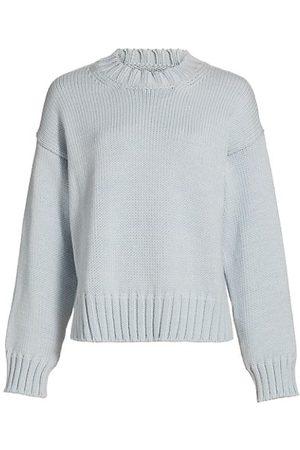Deveaux New York Romy Boxy Crewneck Sweater