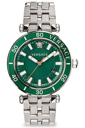 VERSACE Greca Sport Stainless Steel Bracelet Watch
