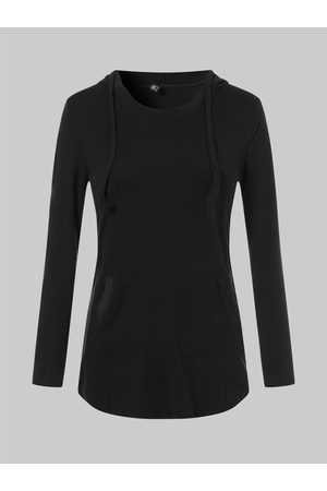 YOINS V-neck Hoodie with Front Pocket in