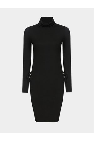 YOINS Sexy Long Sleeves Bodycon Dress with Backless Design