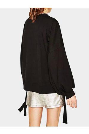 YOINS Self-tie Slit Design Sweaters in