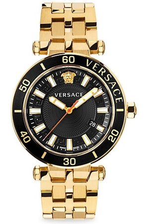 VERSACE Men Watches - Greca Sport Goldtone Stainless Steel Bracelet Watch