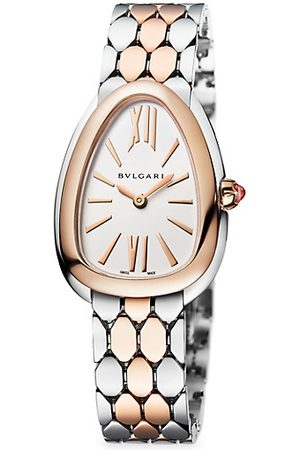 Bvlgari Watches - Serpenti Seduttori Two-Tone Bracelet Watch