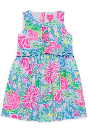 Lilly Pulitzer Girls Printed Dresses - Little Girl's & Girl's Annalee Ruffled Floral Dress