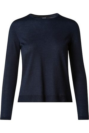 AKRIS Cashmere & Silk Knit Pullover