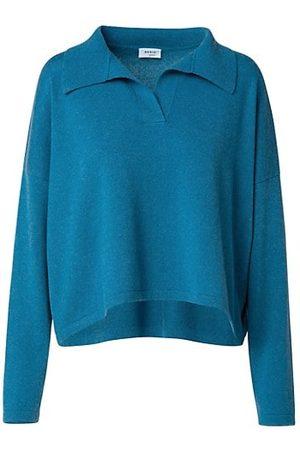 AKRIS Polo Collar Cashmere Pullover