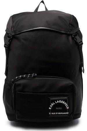 Karl Lagerfeld Men Rucksacks - Logo patch backpack