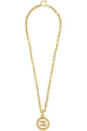CHANEL 1993 CC pendant necklace