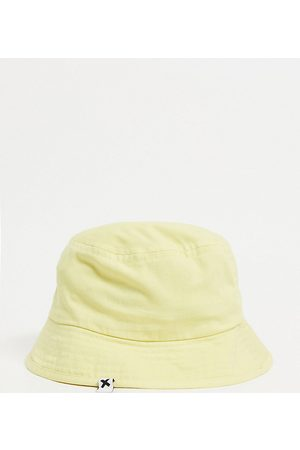 COLLUSION Twill bucket hat in