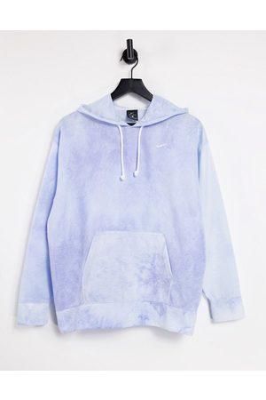 Nike Icon Clash tie dye hoodie in