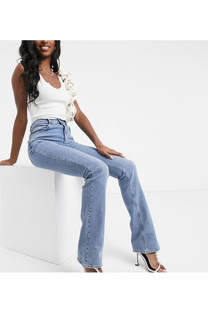 ASOS ASOS DESIGN Tall high rise '70's' stretch flare in midwash
