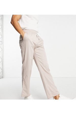 Reclaimed Vintage Inspired dad fit trouser in stone-Neutral