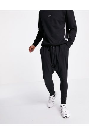 ASOS Lightweight drop crotch joggers in