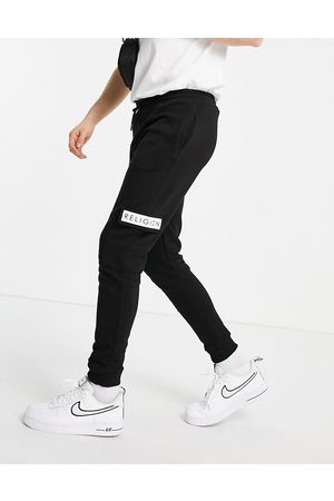 Religion Patch logo cadet joggers in