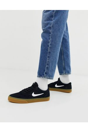 Nike Chron Solarsoft trainers in /gum