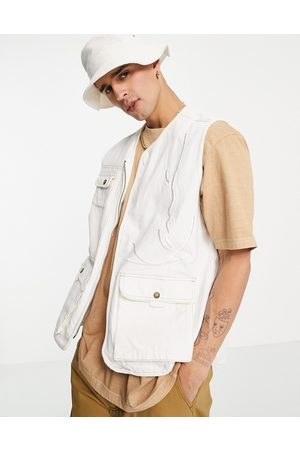 Karl Kani Signature utility vest in off