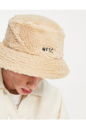 WeSC Sherpa bucket hat-Neutral