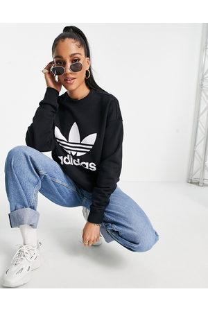 adidas Large logo sweatshirt in