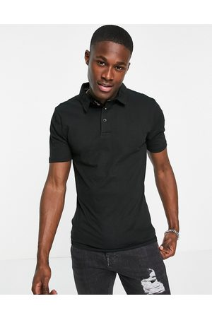 Le Breve Muscle fit polo in