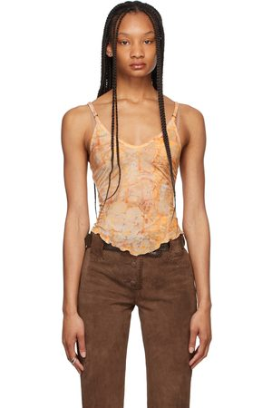 Charlotte Knowles Beige Halcyon Tank Top
