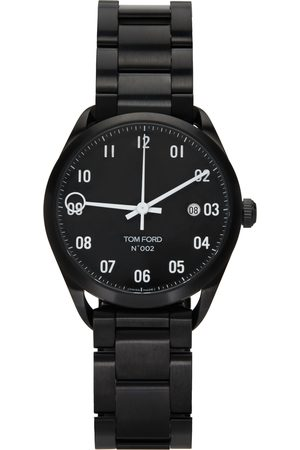 TOM FORD Black Stainless Steel 002 Watch