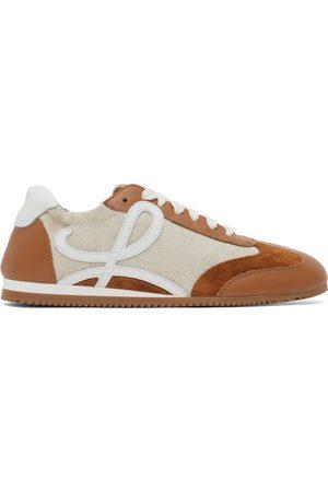 Loewe Beige & Tan Ballet Runner Sneakers