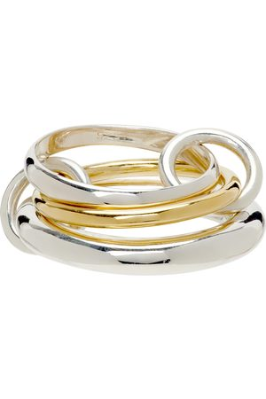 Women Rings - Spinelli Kilcollin Amaryllis Three-Link Ring