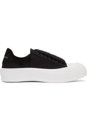 Men Casual Shoes - Alexander McQueen & White Deck Plimsoll Sneakers