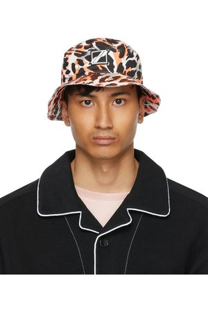 Men Hats - We11done Leopard Bucket Hat