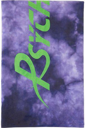 Psychworld SSENSE Exclusive Purple Logo Beach Towel