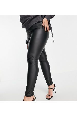 Outrageous Fortune Leather look leggings in