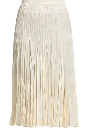 Michael Kors Collection Crushed Slip Skirt