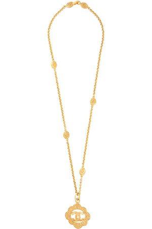 CHANEL 1995 CC pendant necklace
