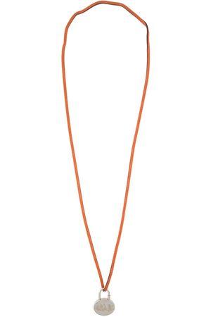 Hermès Women Necklaces - 2003 pre-owned Mediterranean motif Cadena padlock necklace