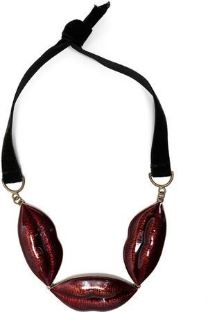 SONIA RYKIEL 2010 lip-charm necklace