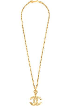 CHANEL 1995 CC pendant chain necklace