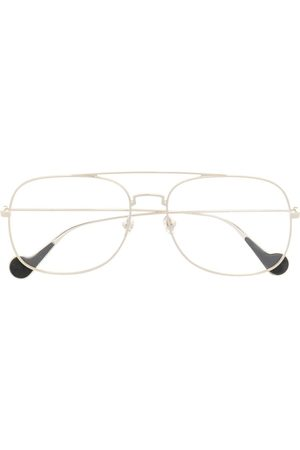 Moncler Aviator frame glasses