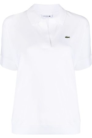 Lacoste Logo embroidered polo shirt