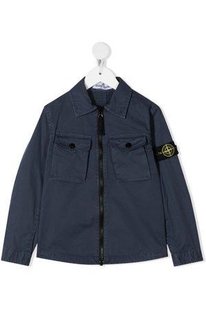 Stone Island Zip-front shirt jacket