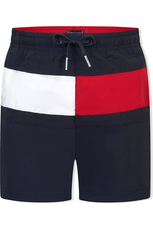 Tommy Hilfiger Logo-patch swimming trunks